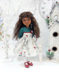 Forest Snowman - dress for Ruby Red Fashion Friends doll