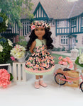 Garden Floral - dress for Ruby Red Fashion Friends doll
