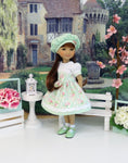 Garden Gate - dress for Ruby Red Fashion Friends doll