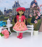 Garden Party - dress & jacket for Ruby Red Fashion Friends doll