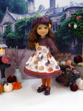 Gilded Pumpkin - dress for Ruby Red Fashion Friends doll