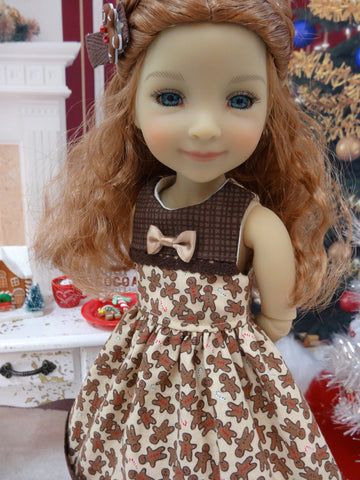 Gingerbread Cookies - dress for Ruby Red Fashion Friends doll