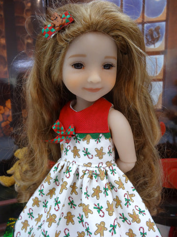 Gingerbread Sweets - dress for Ruby Red Fashion Friends doll