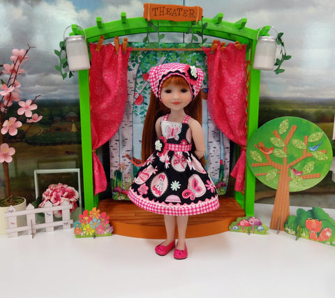 Gingham Butterfly - dress for Ruby Red Fashion Friends doll