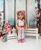 Gingham Meadow - romper for Ruby Red Fashion Friends doll