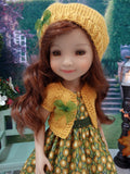 Golden Autumn Mum - dress & sweater for Ruby Red Fashion Friends doll