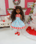 Happy Snowman - dress for Ruby Red Fashion Friends doll