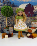 Hello Pumpkin - dress for Ruby Red Fashion Friends doll