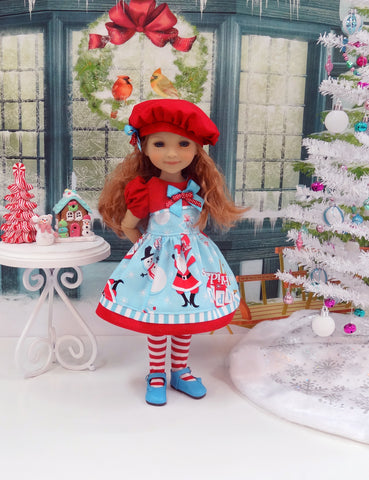 Holly Jolly - dress for Ruby Red Fashion Friends doll
