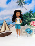 Island Girl - top & shorts for Ruby Red Fashion Friends doll