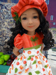 Late Season Cherry - dress for Ruby Red Fashion Friends doll