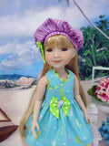 Little Seahorse - dress for Ruby Red Fashion Friends doll
