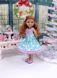 Magic Snowman - dress for Ruby Red Fashion Friends doll