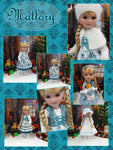 Mallory - custom winter themed Ruby Red Fashion Friend doll & wardrobe