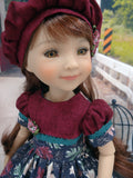 Midnight Autumn - dress for Ruby Red Fashion Friends doll