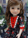 Midnight Garden - dress for Ruby Red Fashion Friends doll