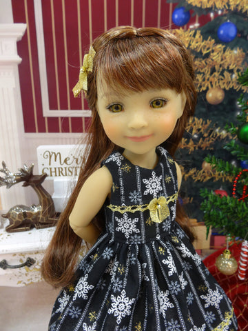 Midnight Snowflakes - dress for Ruby Red Fashion Friends doll