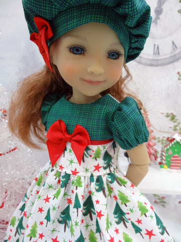 North Pole Forest - dress for Ruby Red Fashion Friends doll