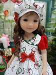 North Pole Penguins - dress for Ruby Red Fashion Friends doll