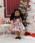 Penguin Parade - dress with shoes for Ruby Red Fashion Friends doll