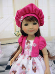 Precious Ballerina - dress & jacket for Ruby Red Fashion Friends doll