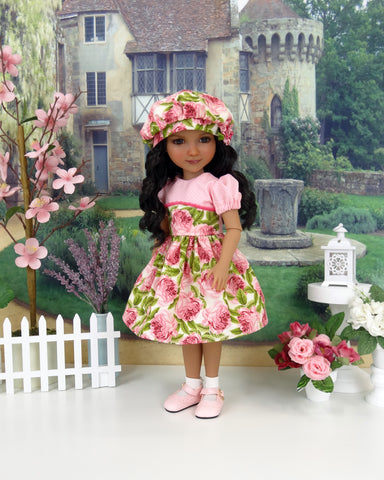 Provence Rose - dress and shoes for Ruby Red Fashion Friends doll