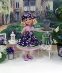 Purple Blossoms - dress for Ruby Red Fashion Friends doll