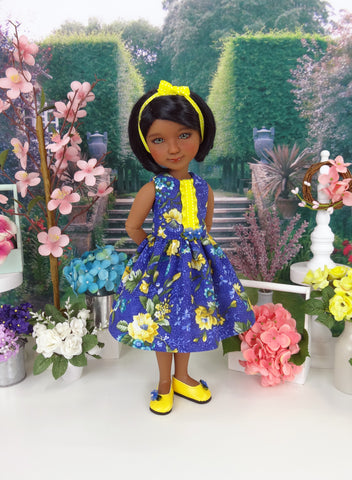 Royal Garden - dress with shoes for Ruby Red Fashion Friends doll