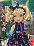 Russian Wildflowers - dress with shoes for Ruby Red Fashion Friends doll