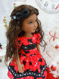Santa Scottie - dress for Ruby Red Fashion Friends doll
