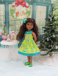 Santa's Elves - dress for Ruby Red Fashion Friends doll