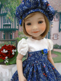 Seasonal Blues - dress for Ruby Red Fashion Friends doll