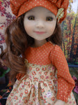 September Spice - dress for Ruby Red Fashion Friends doll