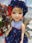 Ship Ahoy - dress for Ruby Red Fashion Friends doll