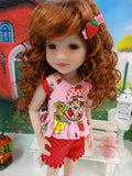 Shortcake Playdate - top & shorts for Ruby Red Fashion Friends doll