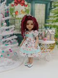 Snowman Family - dress with shoes for Ruby Red Fashion Friends doll