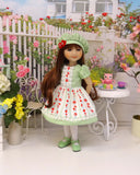 Spring Strawberry - dress for Ruby Red Fashion Friends doll