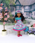 Summer Blooms - dress for Ruby Red Fashion Friends doll