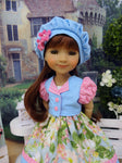 Summertime Beauty - dress & jacket for Ruby Red Fashion Friends doll