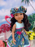 Surfer Girl - dress for Ruby Red Fashion Friends doll