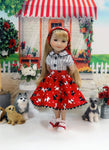 Tail Wagging - blouse & skirt for Ruby Red Fashion Friends doll