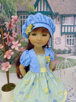 This Little Piggy - dress & jakcet for Ruby Red Fashion Friends doll