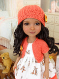 Tiny Tigger - dress and sweater with shoes for Ruby Red Fashion Friends doll