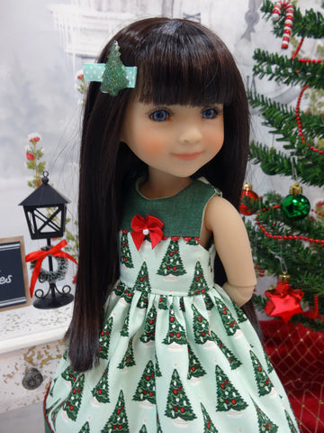 Trim the Tree - dress for Ruby Red Fashion Friends doll
