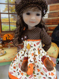 Turkey Day - dress for Ruby Red Fashion Friends doll