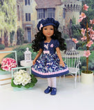 Unicorn Meadow - dress & jacket for Ruby Red Fashion Friends doll