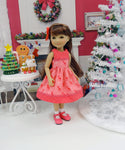 Vintage Deer - dress for Ruby Red Fashion Friends doll