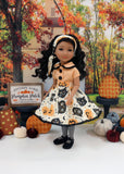 Vintage Halloween - blouse & skirt for Ruby Red Fashion Friends doll