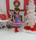 Visit from Santa - dress for Ruby Red Fashion Friends doll