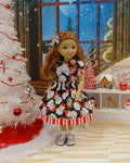 Waiting for Santa - dress ensemble for Ruby Red Fashion Friends doll
